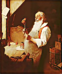 Santa's Workshop by Norman Rockwell (1922)