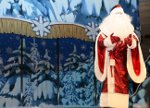 Ded Moroz in a children's show in Moscow